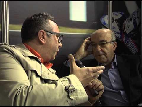 EICMA 2012 MISTERHELMET INTERVISTA ESCLUSIVA CARMELO EZPELETA