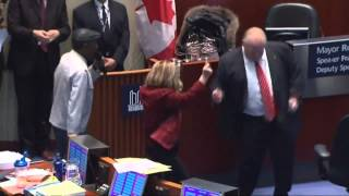 One Love! Mayor Rob Ford dancing - video