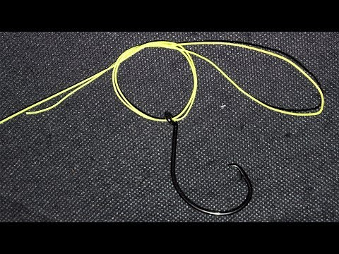 EASIEST Fishing Knot! How To Tie Palomar Knot - Fishing Knots For Lure, Hooks, Swivels