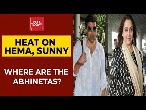Locals Ask Where Are The Abhinetas? Public Outrage Against Hema Malini, Sunny Deol