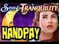 WMS - Sea of Tranquility!  Handpay!  Over 100 spins!