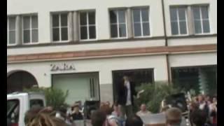 Demo gegen Studiengebühren Regensburg 2009 Rede von Alex Oppitz