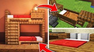 як зробити в майнкрафт ліжко відео без модов