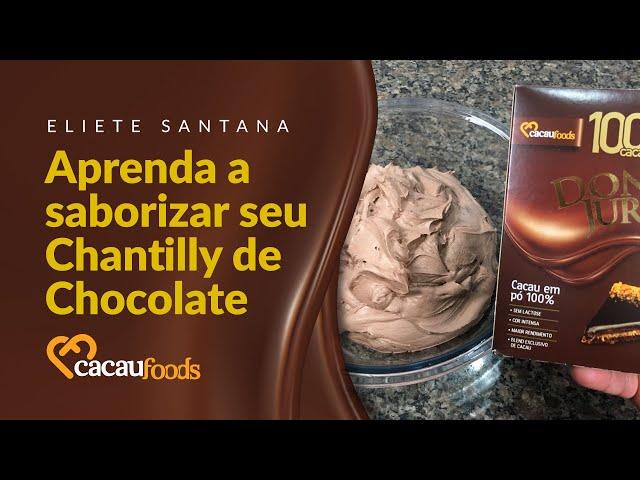 Aprenda a saborizar seu Chantilly de Chocolate   Cacau Foods