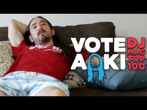 What's In Your Cushions? - Vote Steve Aoki for DJ Mag 2013 Top 100 Thumbnail image