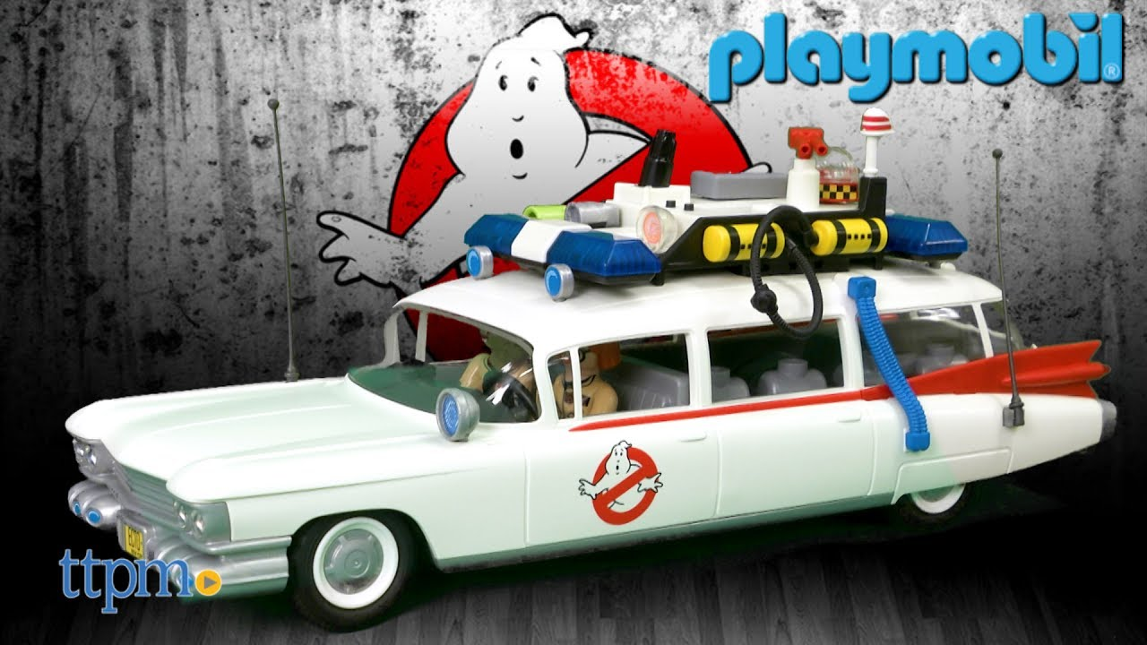 ghostbusters ecto 1 from playmobil youtube. Black Bedroom Furniture Sets. Home Design Ideas