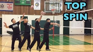Arm Swing Mechanics : Top Spin + Solid Contact (part 2/2) - How to SPIKE a Volleyball Tutorial