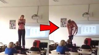 Biyoloji Öğretmeni Sınıfta Soyundu, Derse Katılımda Patlama Oldu