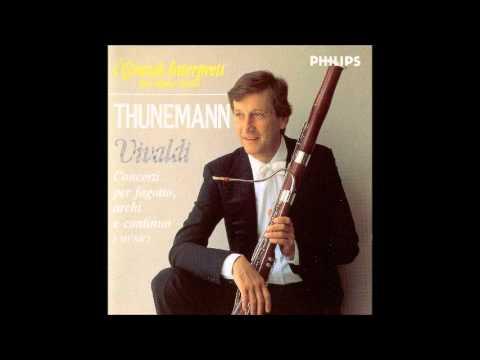 A. Vivaldi Bassoon Concertos, Thunemann / I Musici