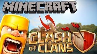 מיינקראפט | מודים - Clash Of Clans