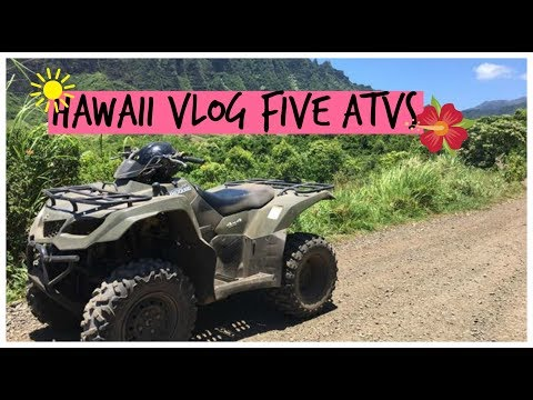 We got so Dirty!! | Vlog #5 & #6 Hawaii ATVs and Gopro