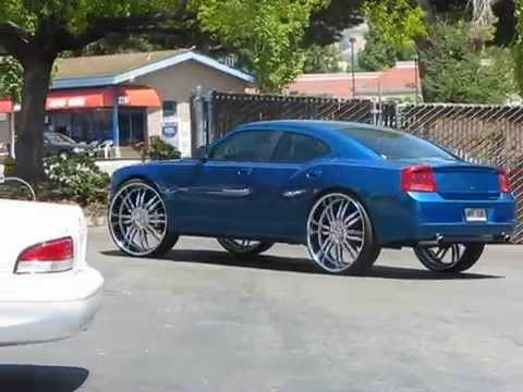 Dodge Charger On 30s By California Wheels