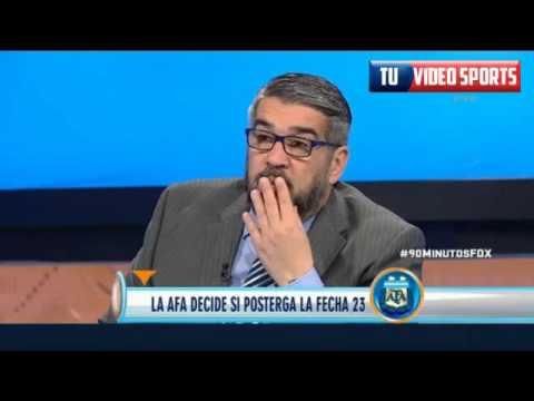 90 Minutos De Fútbol (25 De Agosto 2015) Tévez Y River