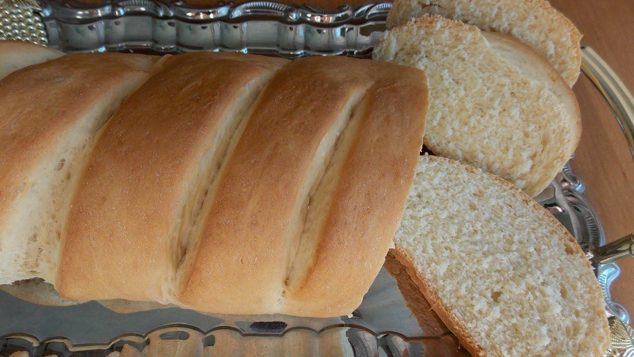 Столовый батон в домашних условиях. Вкусный мягкий хлеб