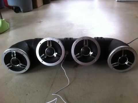 Homemade Atv 4 Speaker Audiotube Youtube