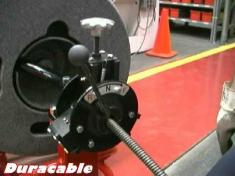 Duracable Mfg Drain Machine- Operating Model DM175 (w/ PCFR)