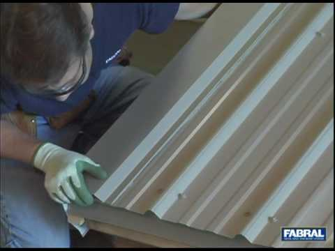 Fabral Gr3 Gable Trim Youtube