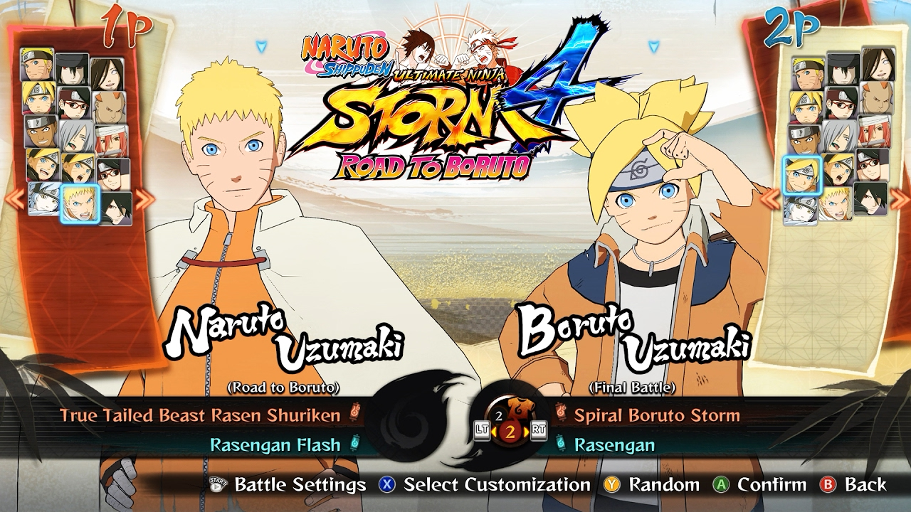 ALL CHARACTERS & COSTUMES [DLC INCLUDED] | NARUTO SHIPPUDEN Ultimate Ninja  STORM 4 ROAD TO BORUTO