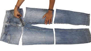 Diy idea From Jeans // New Idea from Jeans // Transformation Idea // By Hand made Ideas