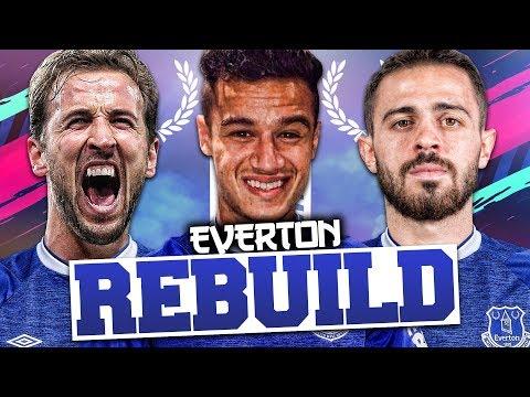 REBUILDING EVERTON!!! FIFA 19 Career Mode
