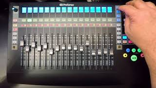 Presonus–Channel Strip Functionality with FaderPort 16 and Pro Tools