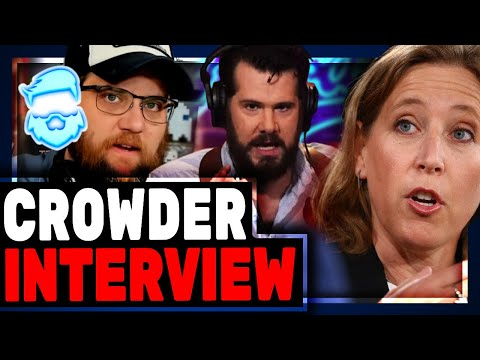 Steven Crowder REVEALS Youtube Bias & FIGHTS To Save Louder With Crowder With Epic Lawsuit!
