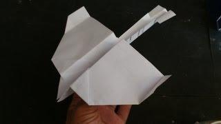 cara buat origami burung layang-layang (model 2)