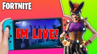 🔴 Best Fortnite Nintendo Switch Player // 850 Wins // New Bunny Skin // Solo Matches + Tips!!