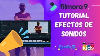 Tutorial Filmora Efectos de Sonido | Taller Youtuber Kids | Pandemia Kids