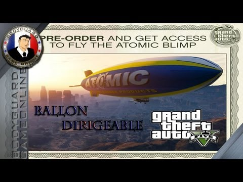 ballon dirigeable gta