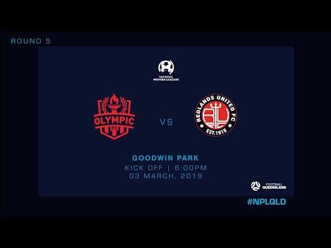 NPL R5 - Olympic FC vs Redlands United