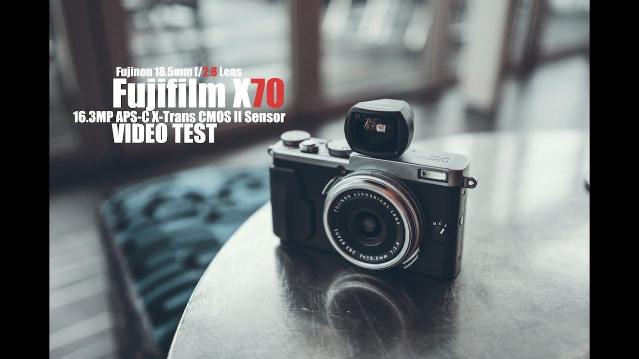 Fujifilm X70 Video Test - YouTube