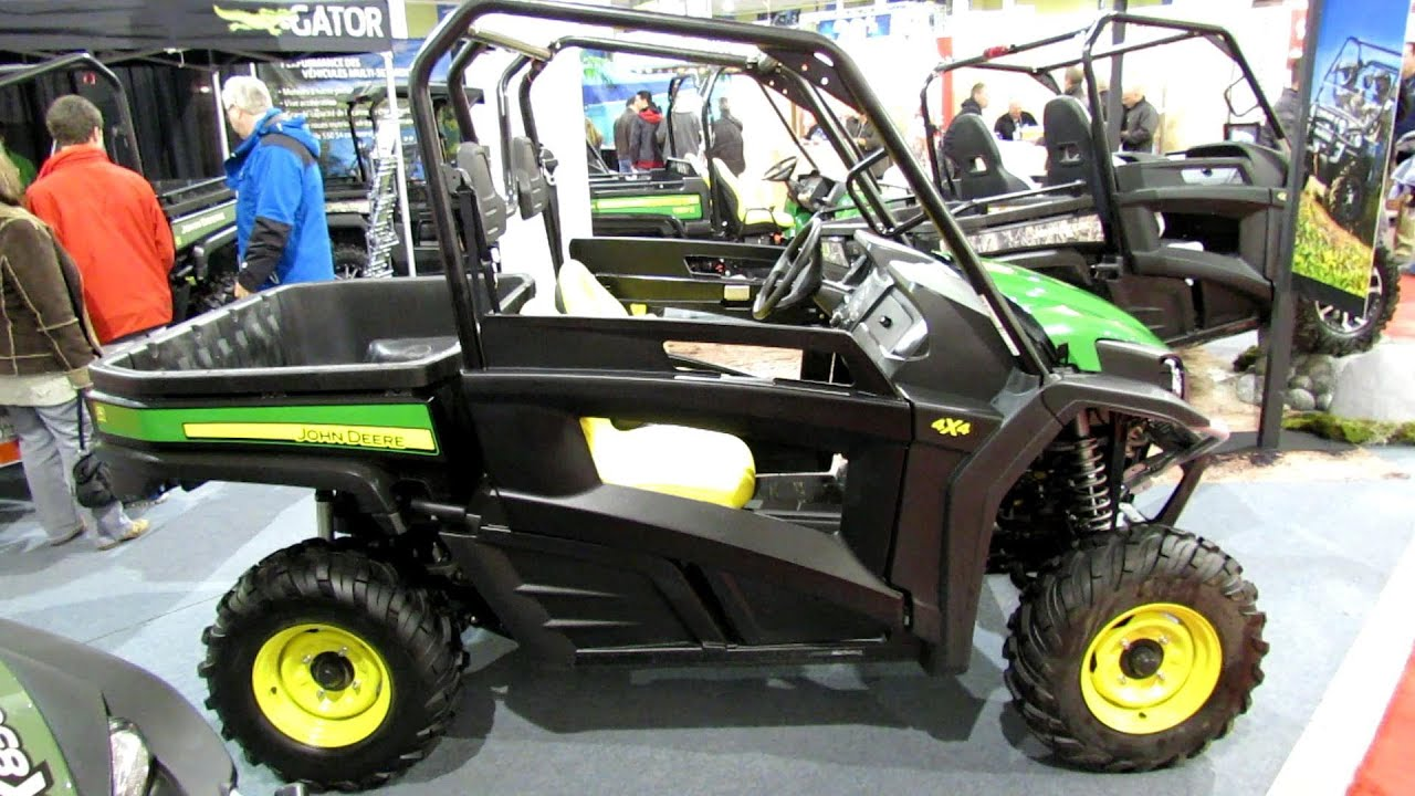 2013 John Deere Rsx850i Gator Utility Vehicle 2012 Salon