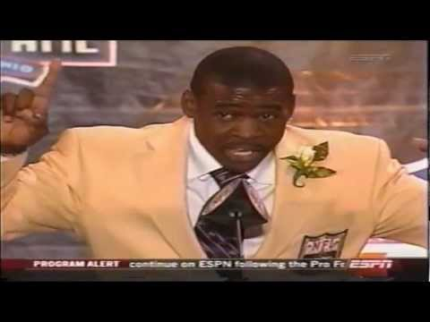 Michael Irvin Hall of Fame Induction Speech