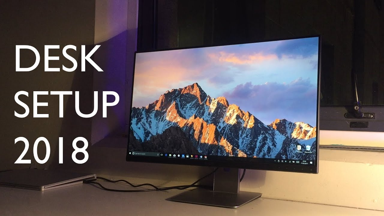 The Ultimate Surface Book Desk Setup 2018 Youtube