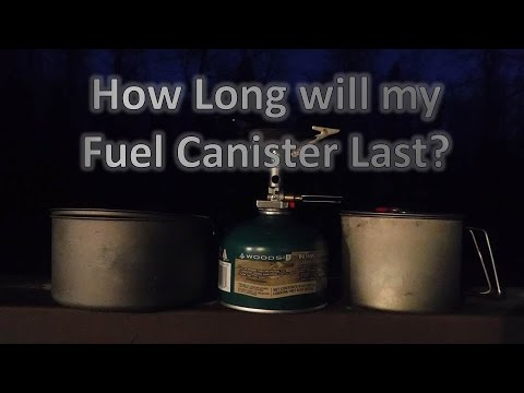 how long will my fuel canister last youtube. Black Bedroom Furniture Sets. Home Design Ideas