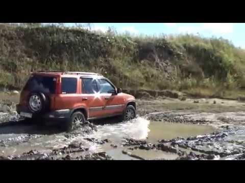 видео: cr-v и x-trail off road