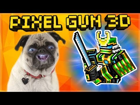 OMG! INSANE NEW ROBOT SAMURAI GADGET! NEW UPDATE 13.5.0 REVIEW | Pixel Gun 3D