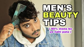 5 MEN'S BEAUTY TIPS | Hindi🔥🔥🔥