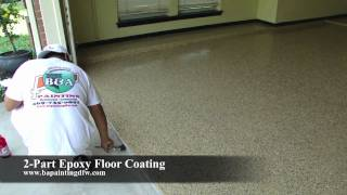 Epoxy Floor Coating | Epoxy Clear Coat | Epoxy Garage Floor | Dallas FT. Worth TX