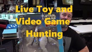 Live Toy And Video Game Hunting #1/ Savannah Flea Market
