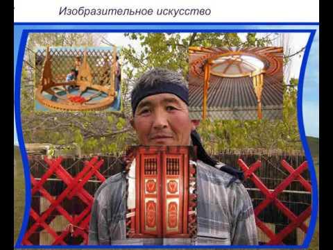 Изобразительное и декоративно прикладное искусство казахов в начале 20 века