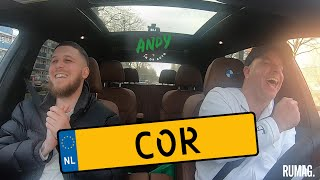Cor - Bij Andy in de auto! (English subtitles)