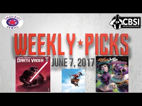 Weekly Picks for Comic Books Releasing June 7, 2017
