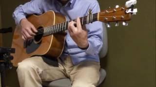 Sukiyaki♪ 上を向いて歩こう♪ cover♪ acoustic guitar solo ♪ fingerstyle