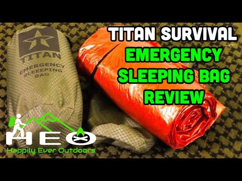 Review: Titan Survival Emergency Sleeping Bag