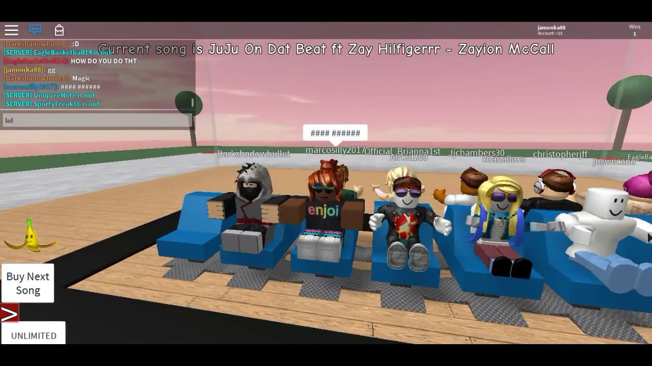 Roblox musical chairs youtube - Playing Roblox Musical Chairs