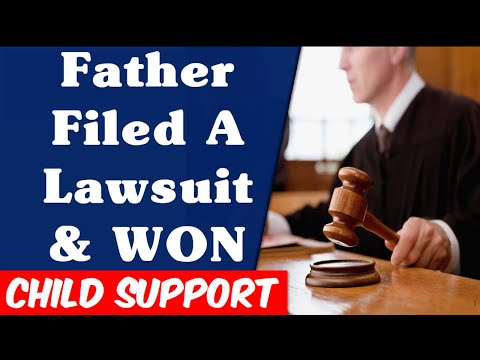 FATHER FILED LAWSUIT & WON. You Can Defeat Child Support in Federal And State Courts. HOORAY!