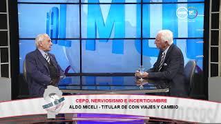 Aldo Miceli: Cepo, nerviosismo e incertidumbre