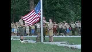 Bartle Scout Camp - Flag Ceremony Ep 6